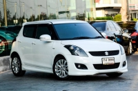 """Suzuki Swift 1.2RX 2015 Top Limited "" ราคา 383,000 ."